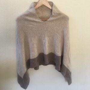 Celeste Women's Wool Cashmere Poncho